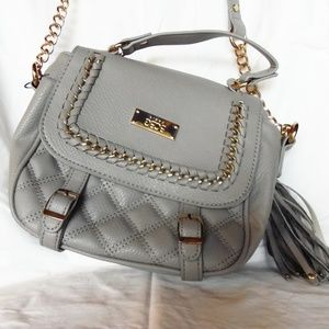 BCGC Paris Quilted Over The Shoulder Strap Bag